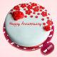Buy Gorgeous Anniversary  Fondant Cake