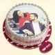 Buy Couple photo cake