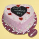 Buy Happy valentines day strawberry cake