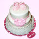 Buy Baby Girl 2 tier cake