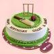 Buy Cricket Pitch Fondant cake