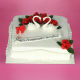 Buy White Swan Pair Cake