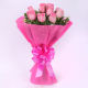 Buy PInk Roses in Pink Packing