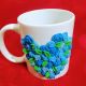 Buy 3D Blue Heart Mug