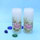 Buy Flowery Printed Candles