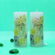 Buy Candle Pair With touch of nature