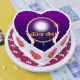 Buy Heart Shape Karwa Chauth Cake