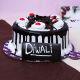 Buy Diwali Black Forest Paradise Cake