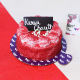 Buy Karwa Chauth Desirable Red Velvet cake