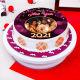 Buy Happy 2021 Cake