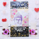 Buy Flower Candle with Buddha Wall Key Holder