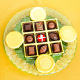 Buy Chocolate Truffles and Bisks Platter