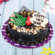 Buy Tempting New Year Cake