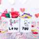 Buy Red Roses Flower  with chocolate Couple valentine day mug