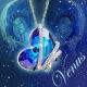 Buy Blue Heart Crystal Pendant